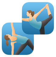 Pocket Yoga & Teacher logo icons