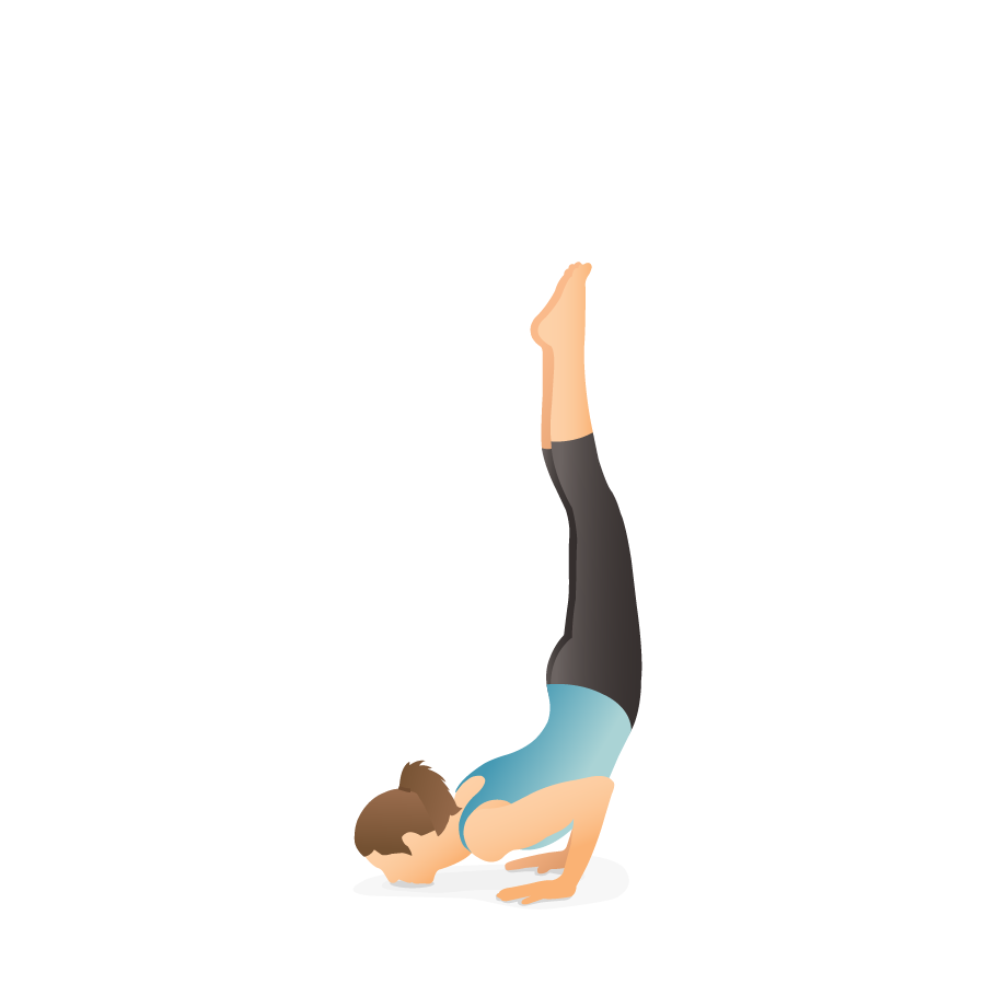 Yoga Pose Chin Stand Pocket Yoga