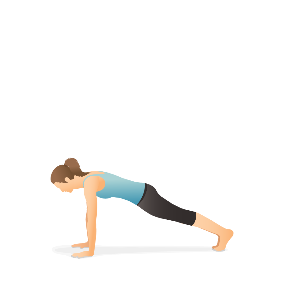 Yoga Pose Plank Pocket Yoga