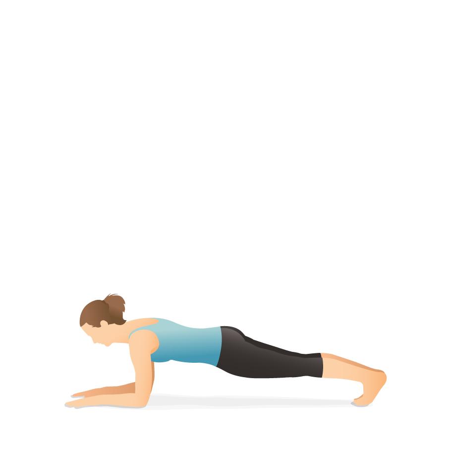 Yoga Pose Forearm Plank Pocket Yoga
