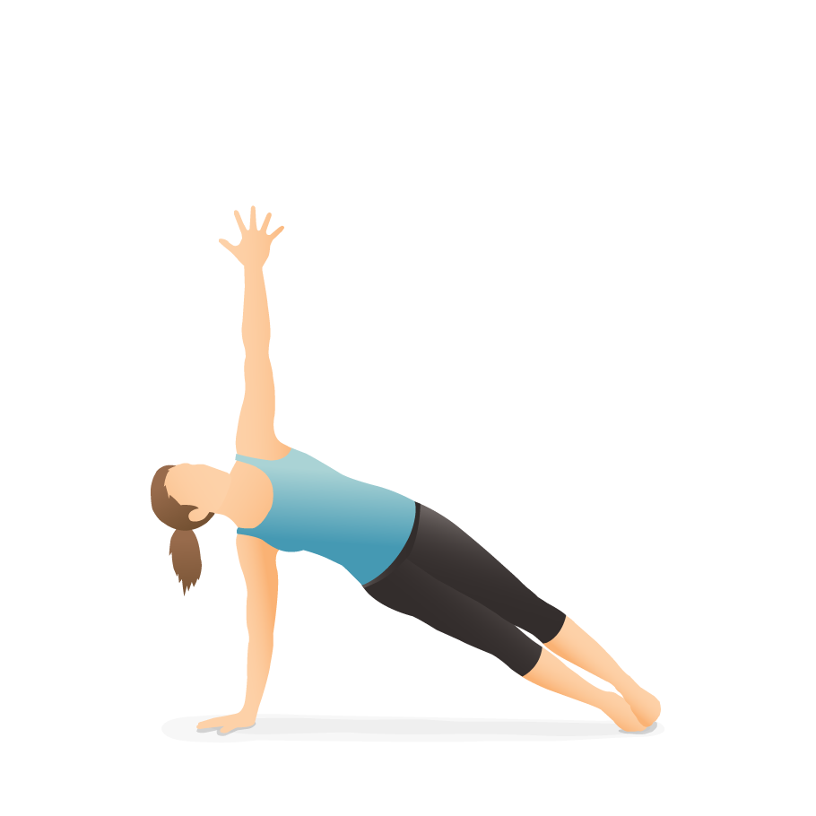 Yoga Pose Side Plank Pocket Yoga
