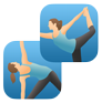 Pocket Yoga & Practice Builder logo icons